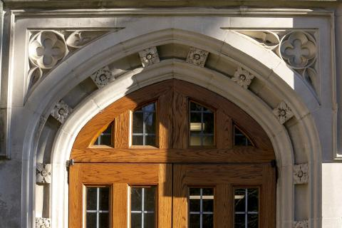 Social Sciences Building Doorway